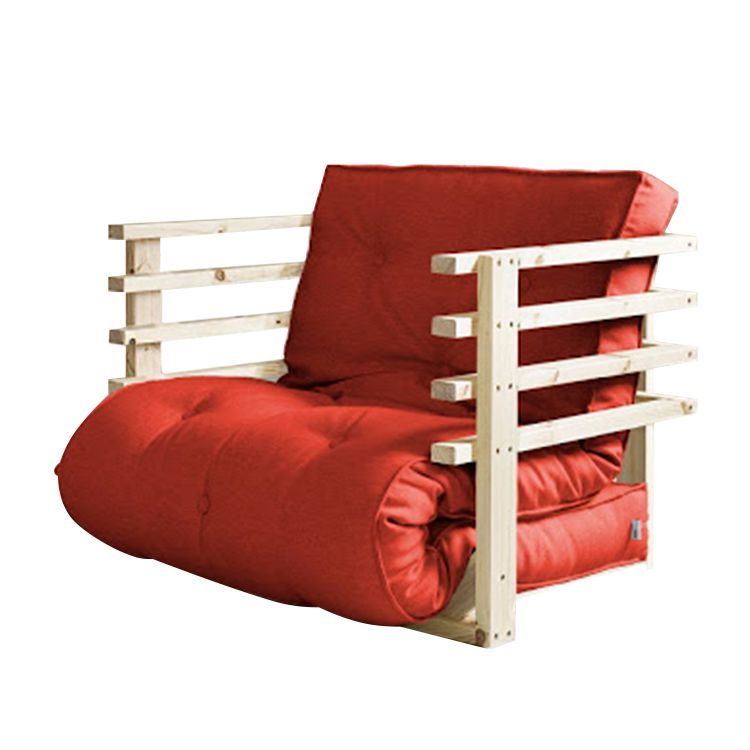 schlafsessel funk futon rot natur karup m bel obline. Black Bedroom Furniture Sets. Home Design Ideas
