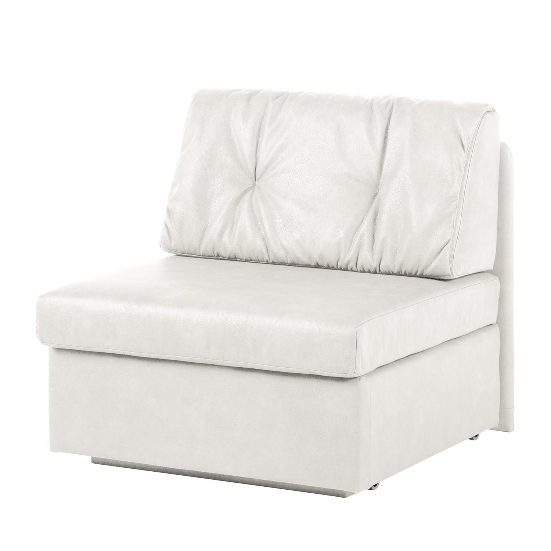 Schlafsessel Morondo - Kunstleder - Weiß, Modoform