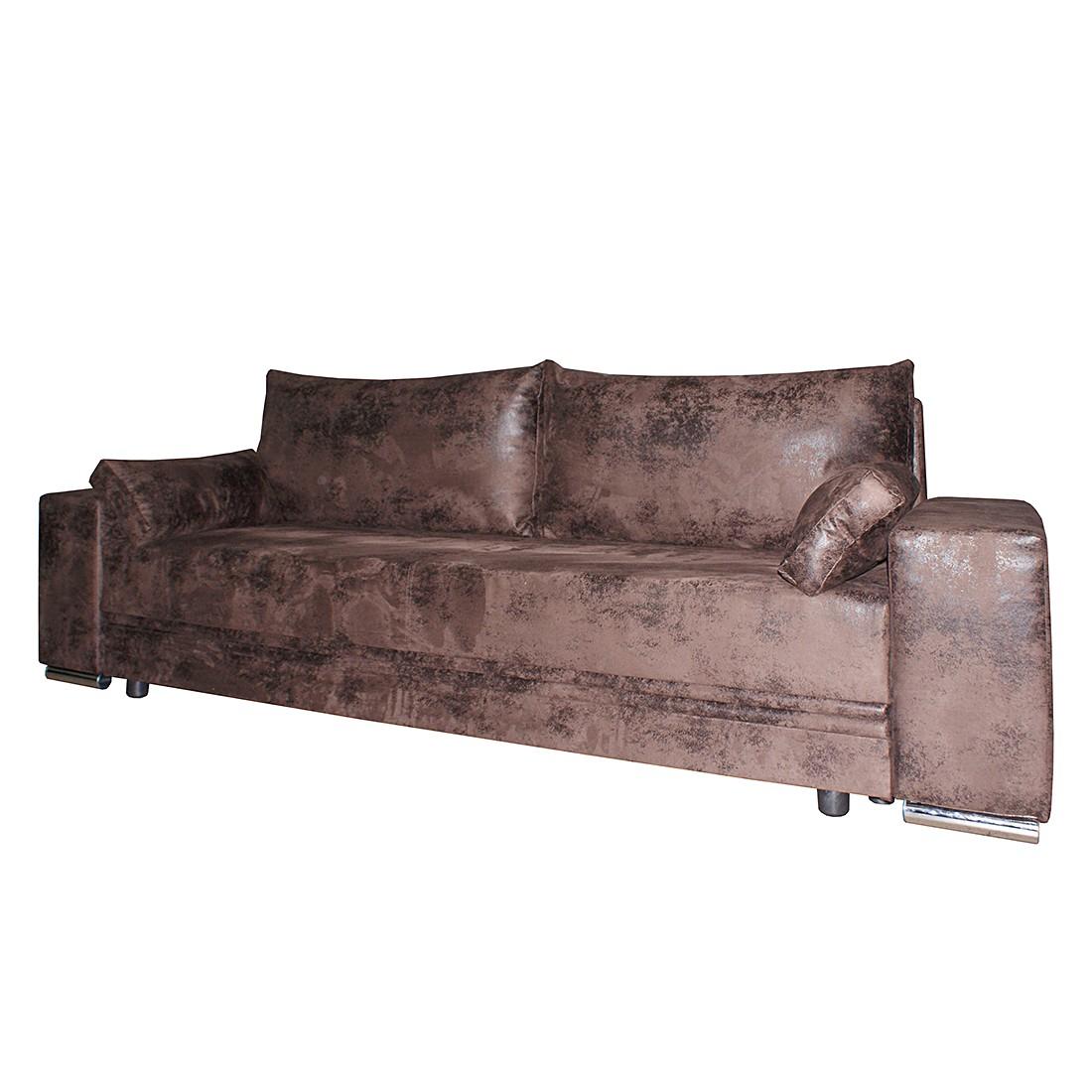 Schlafsofa City Lounge – Microfaser Braun, roomscape günstig