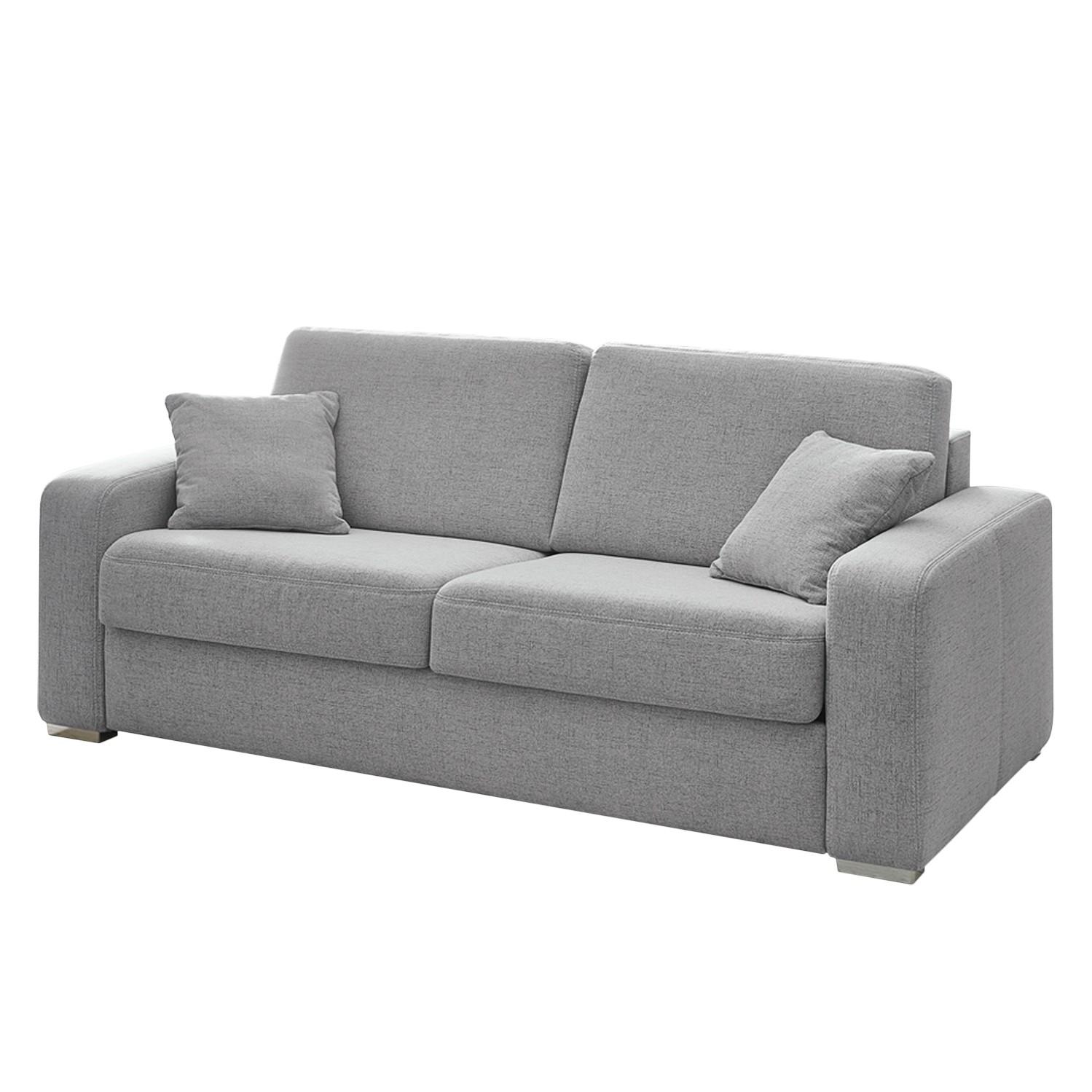 Schlafsofa Coro - Webstoff - Grau, Home Design
