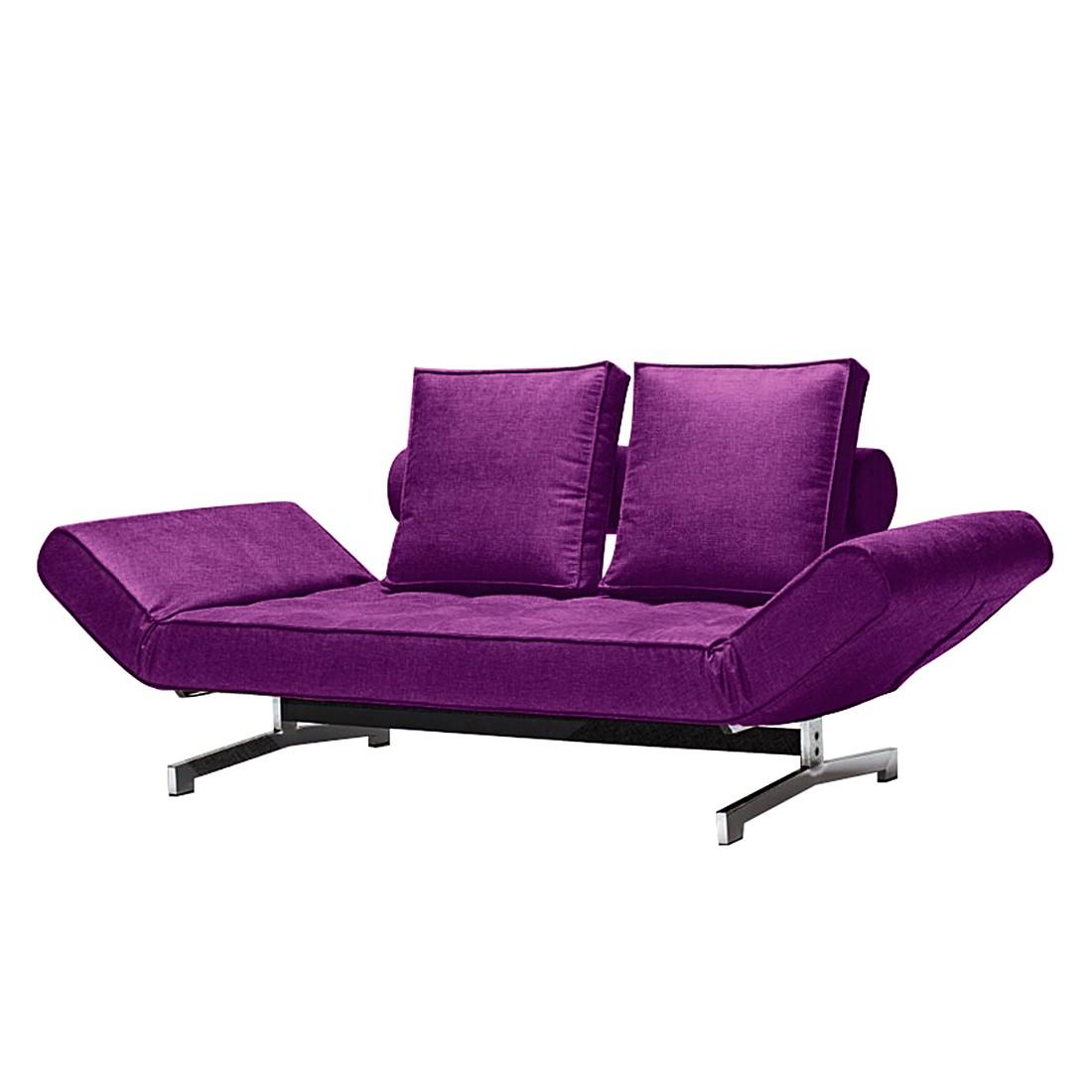 Schlafsofa Ghia – Webstoff Lila, Innovation Möbel bestellen