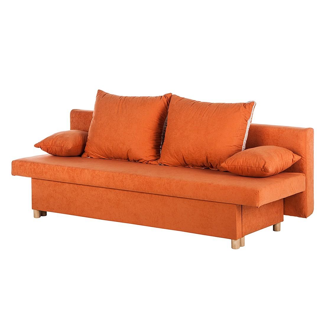 Schlafsofas 140 breit preisvergleiche for Schlafsofa orange