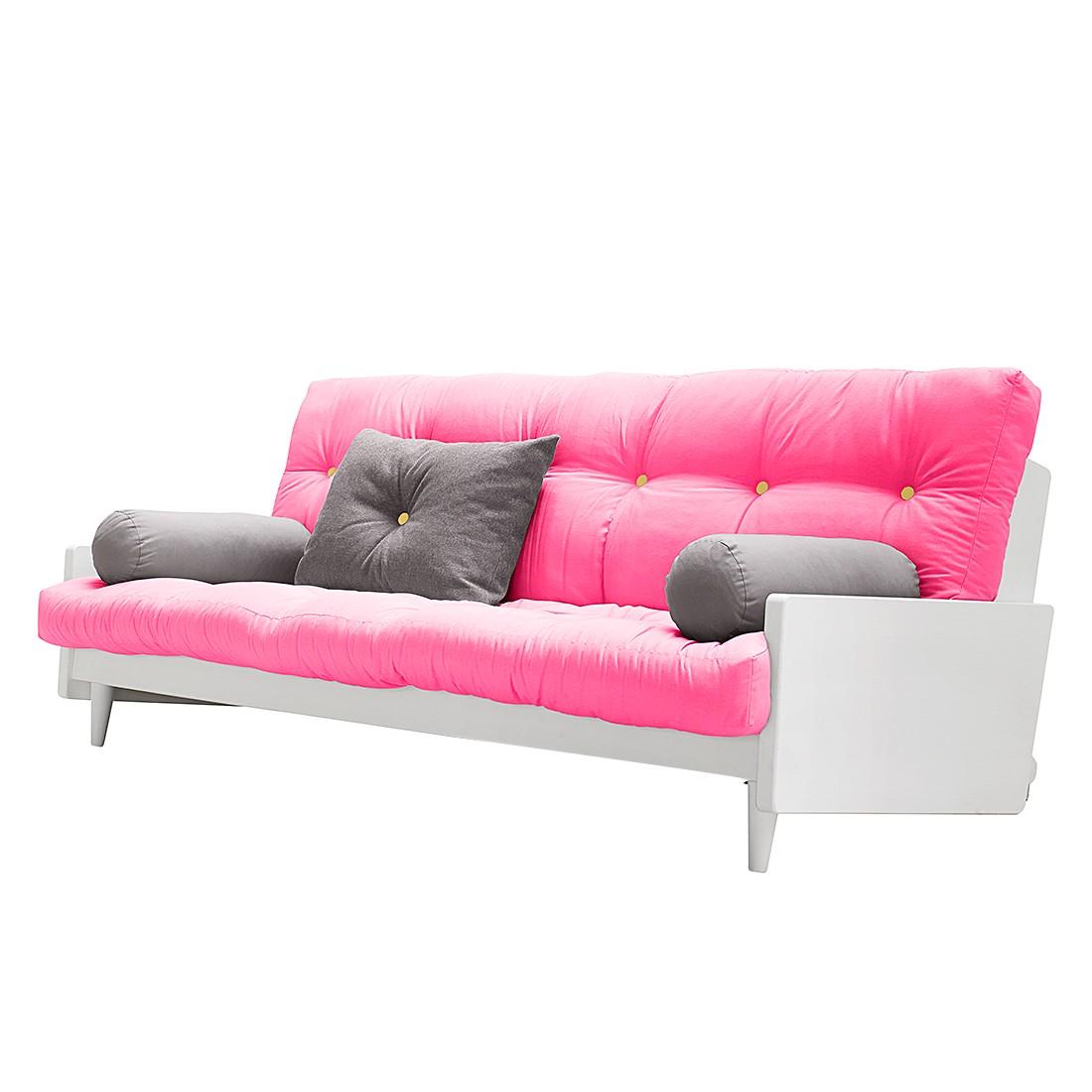 Divano letto edge futon bianco prezzi e offerte sottocosto for Divano fucsia
