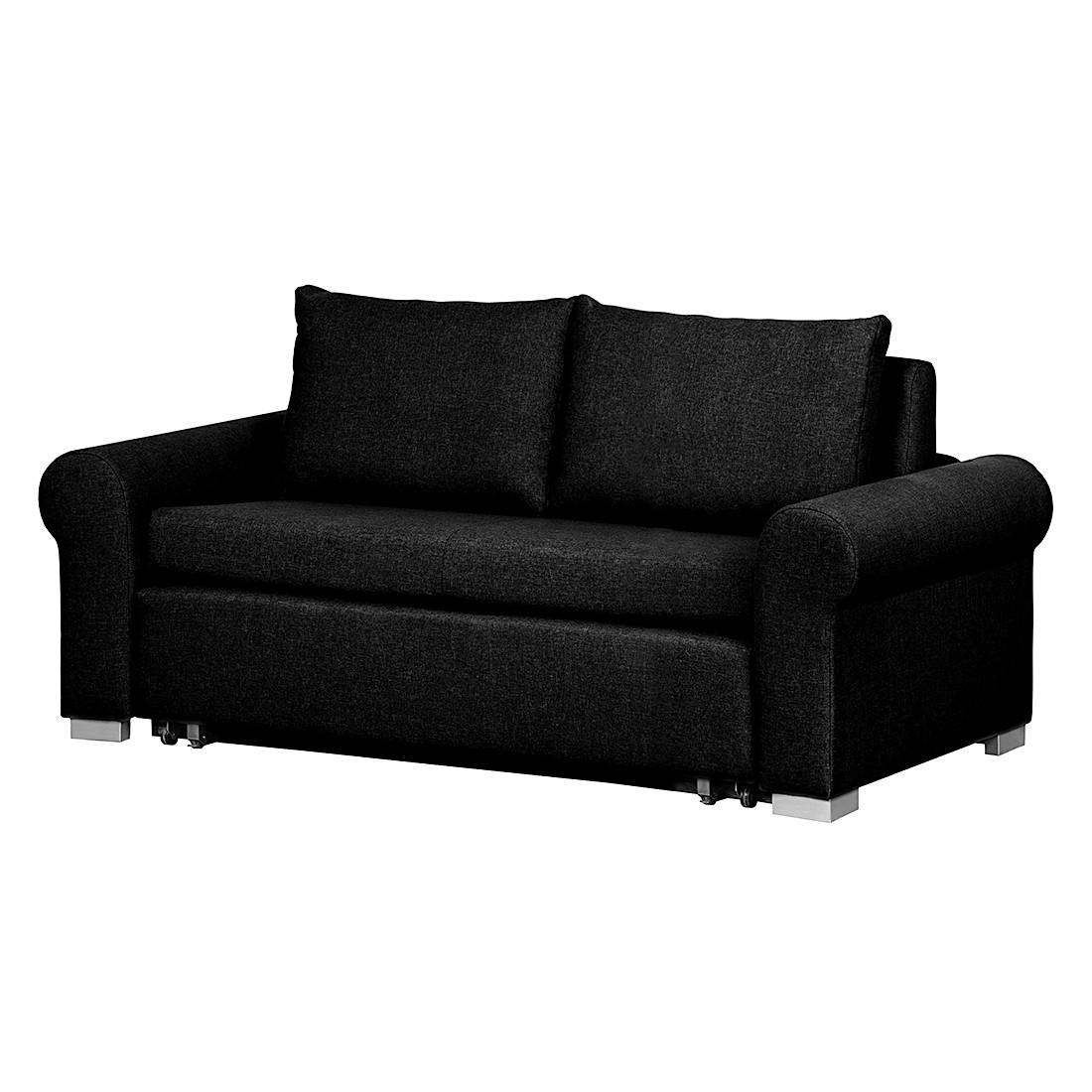 Schlafsofa Latina Country – Webstoff Schwarz – Breite: 205 cm, roomscape jetzt bestellen