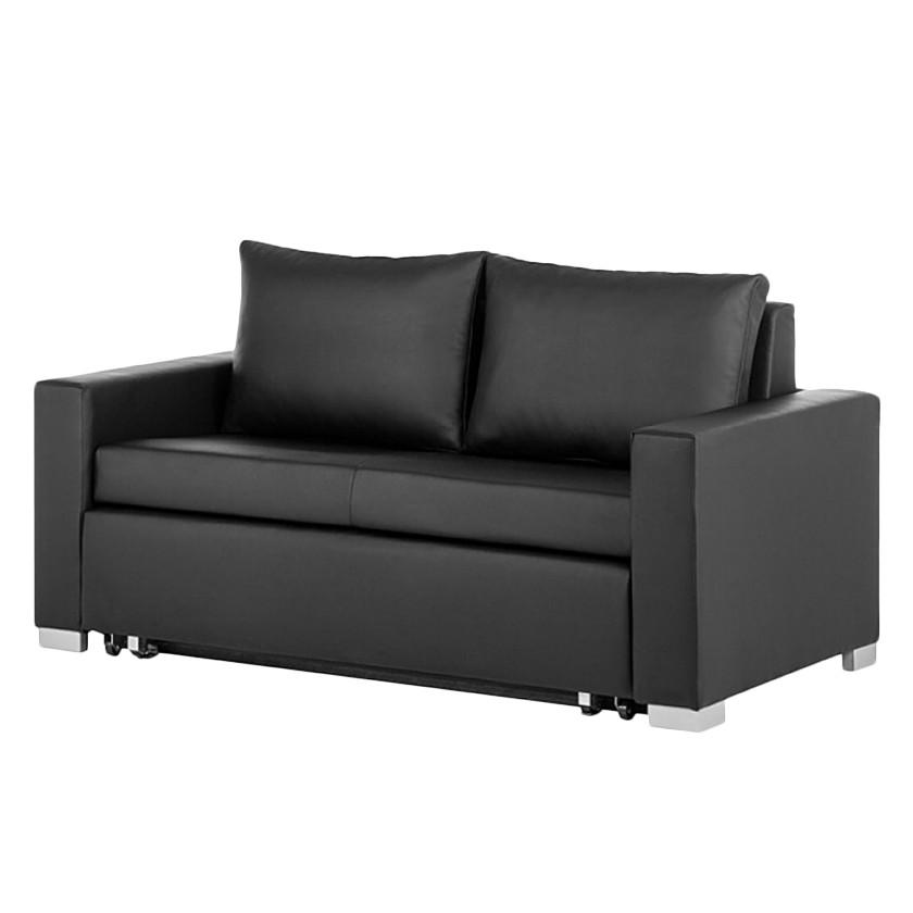 slaapbank zwart kopen online internetwinkel. Black Bedroom Furniture Sets. Home Design Ideas