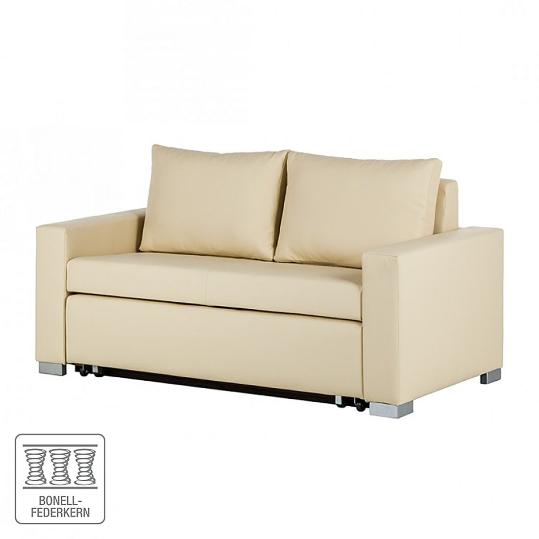 schlafsofa latina ii 150 cm bett sofa schlaf couch schlaffunktion schlafcouch ebay. Black Bedroom Furniture Sets. Home Design Ideas