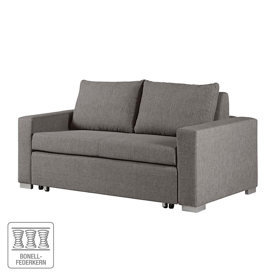 Schlafsofa Latina – Webstoff Grau – Breite: 190 cm, roomscape online kaufen