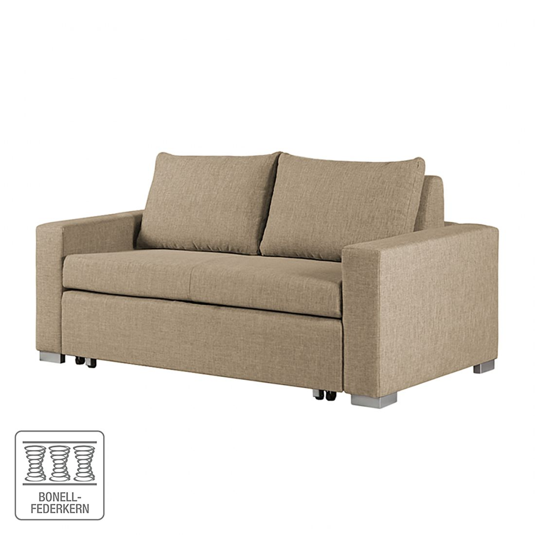 schlafsofa latina webstoff beige lila blumenmuster 150 cm roomscape kaufen. Black Bedroom Furniture Sets. Home Design Ideas