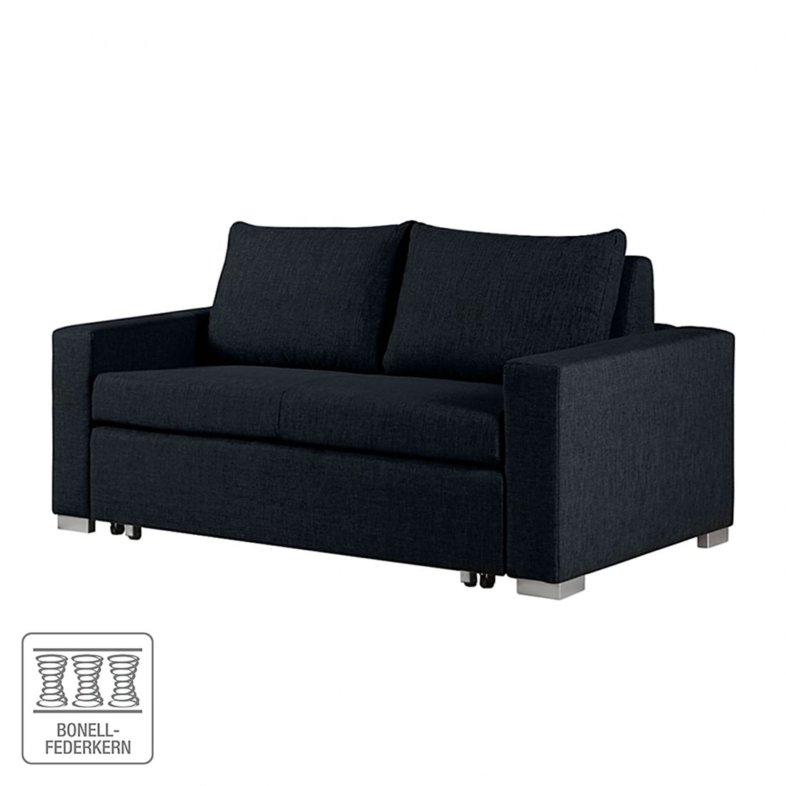 schlafsofa latina webstoff schwarz breite 190 cm roomscape bestellen. Black Bedroom Furniture Sets. Home Design Ideas
