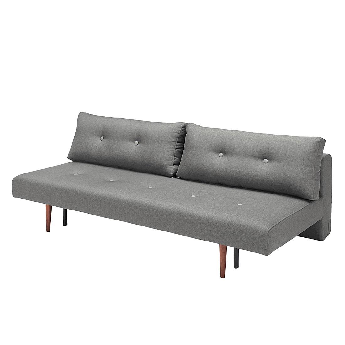 schlafsofa lazy time stoff dunkelgrau innovation g nstig kaufen. Black Bedroom Furniture Sets. Home Design Ideas
