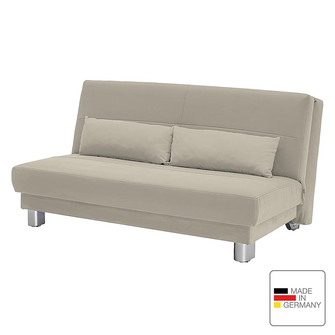 schlafsofa motard flachgewebe sand 158 cm studio monroe online bestellen. Black Bedroom Furniture Sets. Home Design Ideas