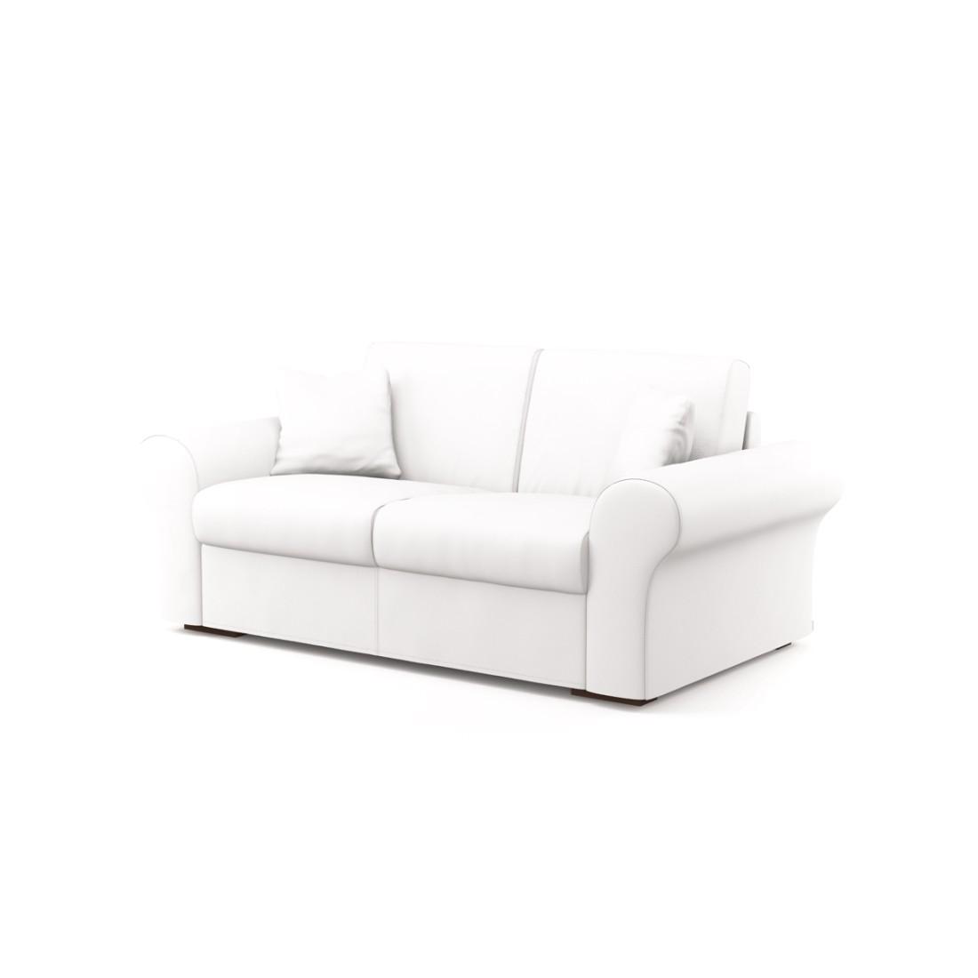 Schlafsofa Novo (2-Sitzer) – Soft 1400 (Bluetenweiß), Von Wilmowsky günstig bestellen