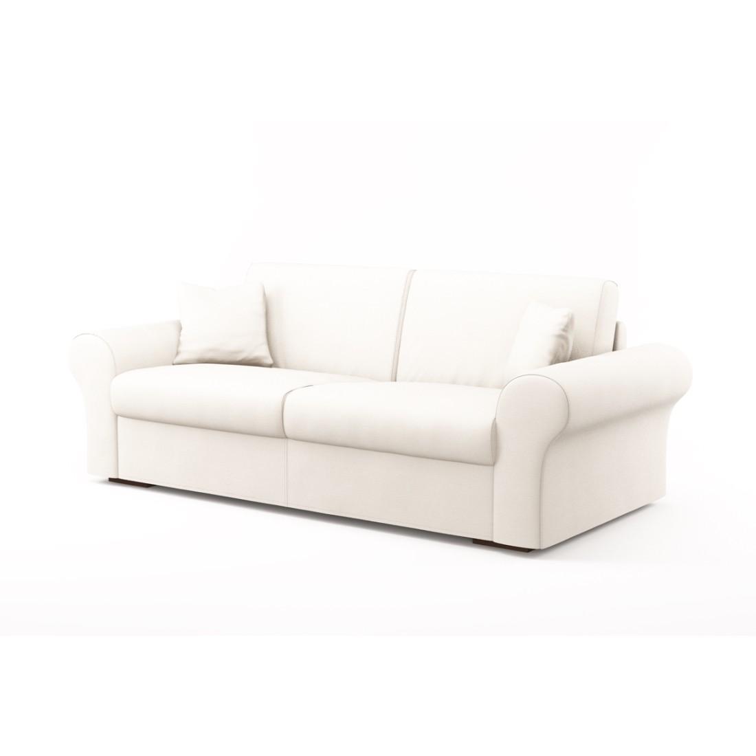 Schlafsofa Novo (3-Sitzer) – Cielo Vip 5 248 (Antikweiß), Von Wilmowsky kaufen