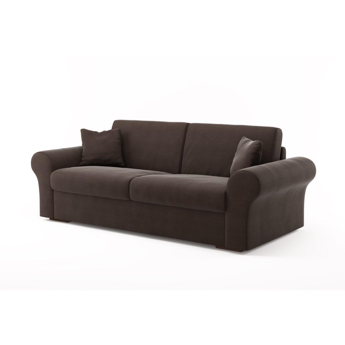 Schlafsofa Novo (3-Sitzer) – Luna Comfort 6 154 (Marron), Von Wilmowsky jetzt bestellen
