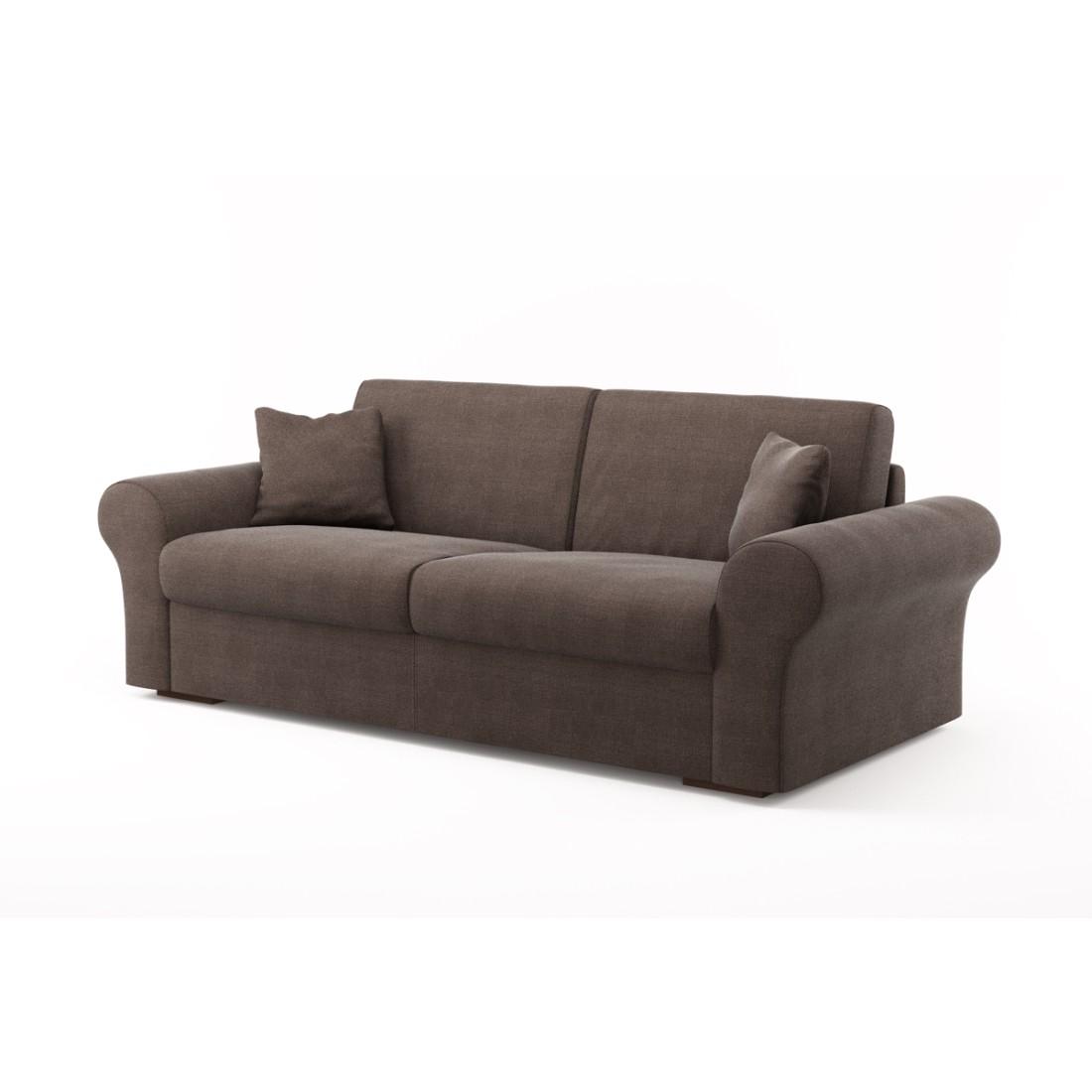 Schlafsofa Novo (3-Sitzer) – Luna Comfort 6 150 (Schlammfarben), Von Wilmowsky online kaufen