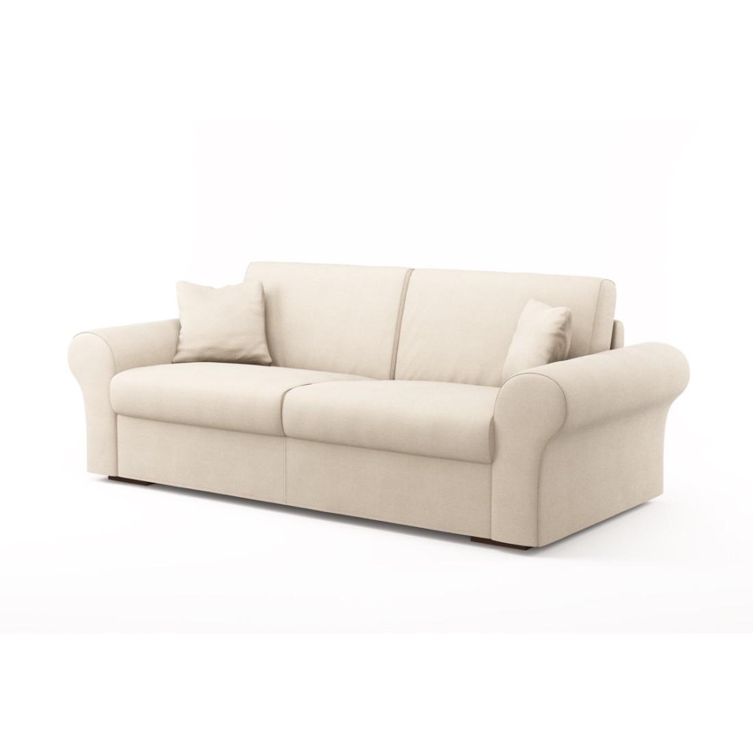 Schlafsofa Novo (3-Sitzer) – Luna Comfort 6 151 (Natur), Von Wilmowsky günstig bestellen