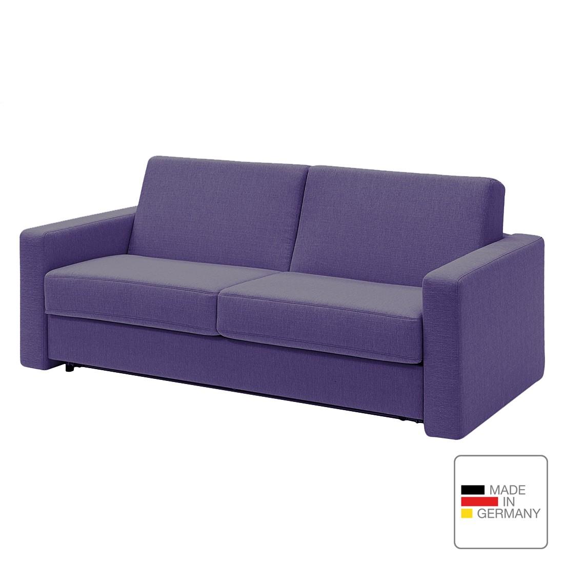 Schlafsofa pidaro ii webstoff kaltschaum violett for Schlafsofa bestellen
