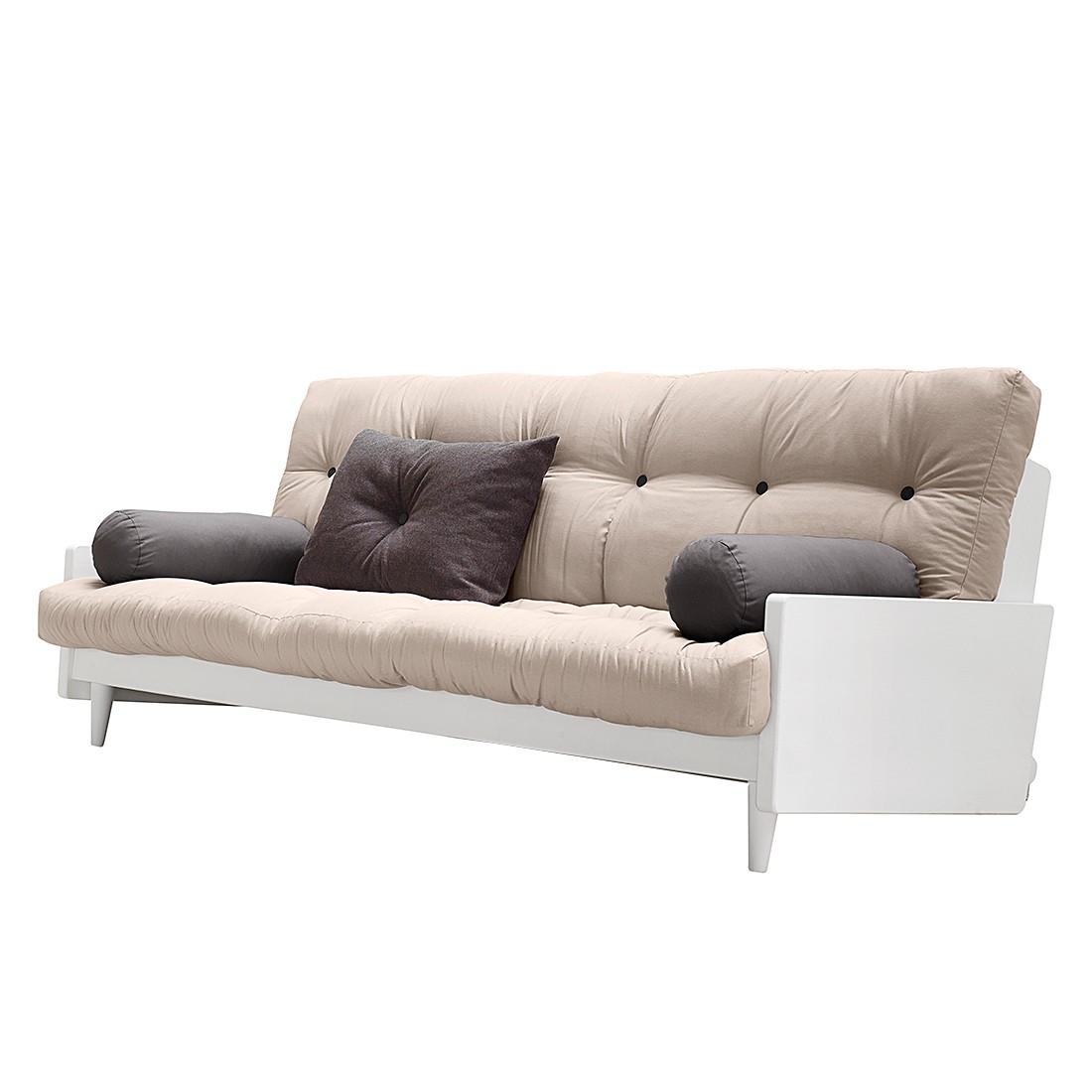 schlafsofa buckle up futon grau limette karup g nstig. Black Bedroom Furniture Sets. Home Design Ideas