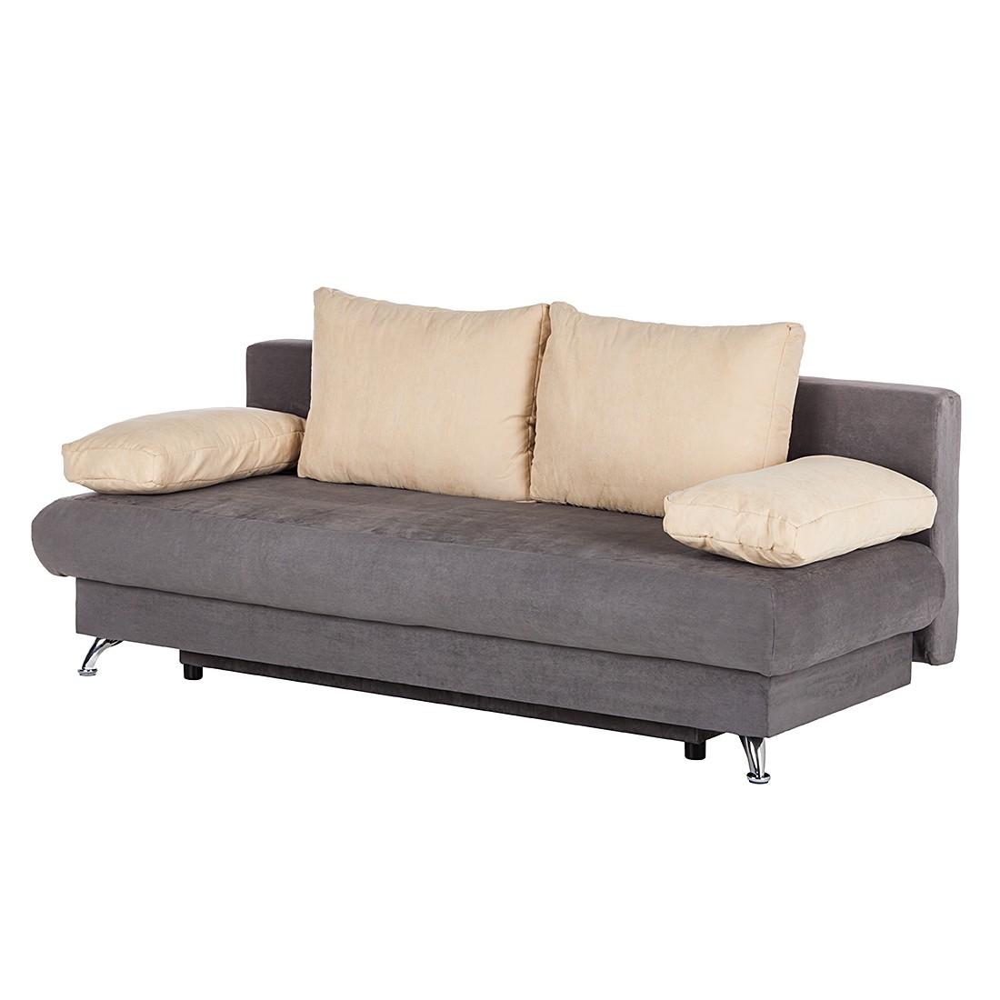 boxspringbett falun microfaser braun mooved g nstig. Black Bedroom Furniture Sets. Home Design Ideas