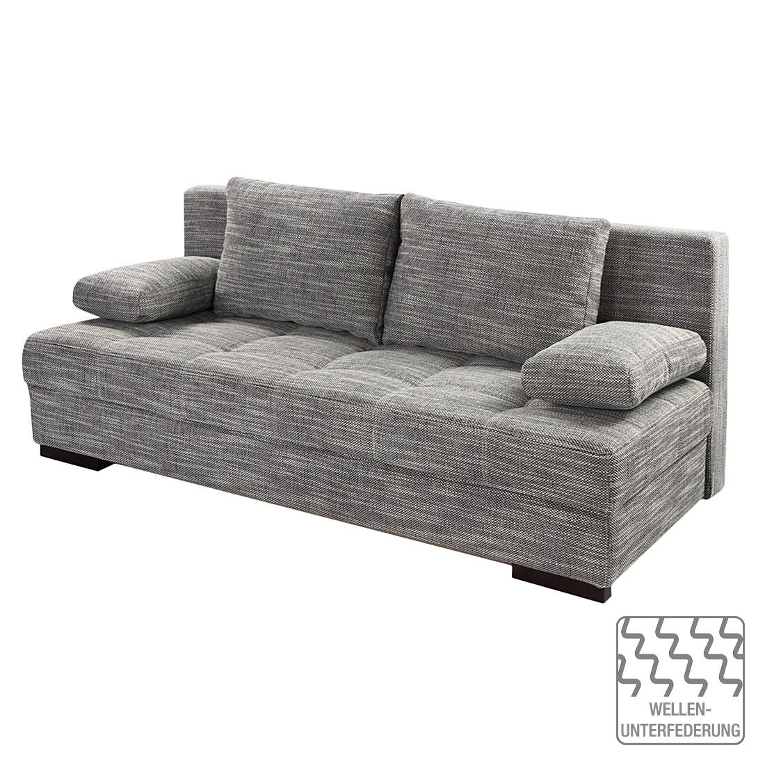 Schlafsofa Vineta - Strukturstoff Grau, Home Design