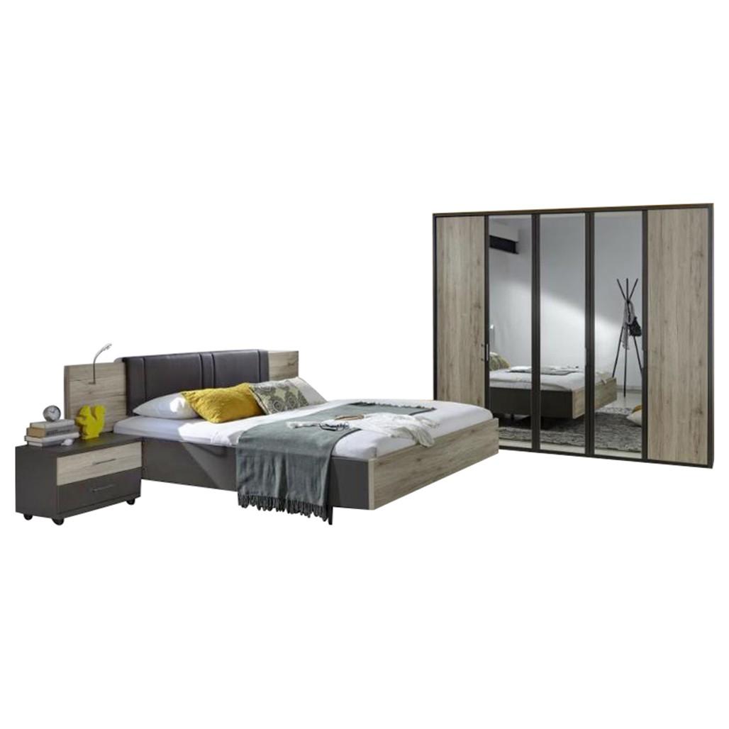 Schlafzimmer Arizona – Santana-Eiche – 89 cm x 208 cm x 249 cm, Althoff kaufen