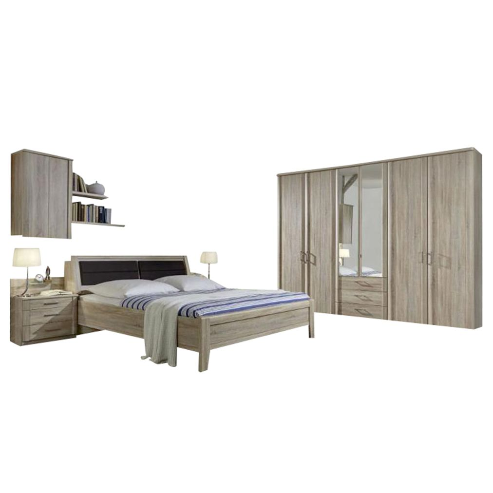 schlafzimmer i luxor 4 eiche dekor eiche s gerau 220x275x58 althoff online bestellen. Black Bedroom Furniture Sets. Home Design Ideas