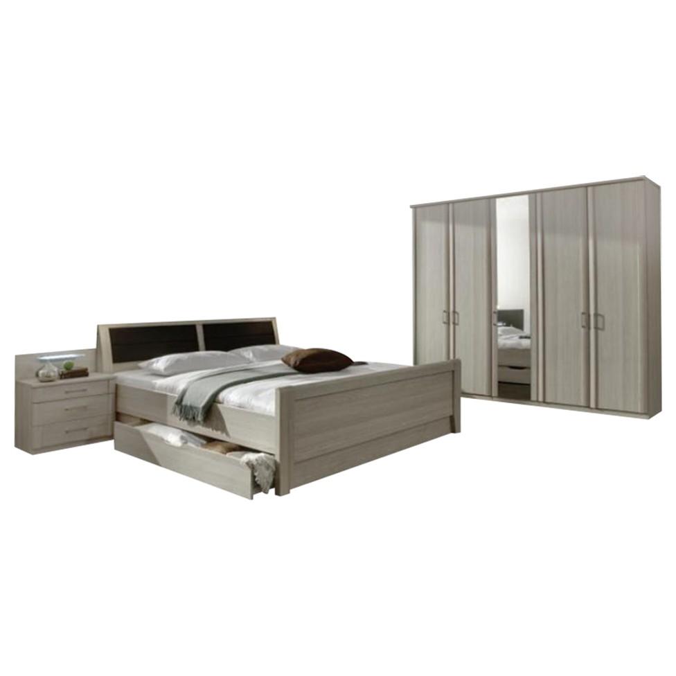 schlafzimmer ii luxor 4 edel esche dekor edel esche. Black Bedroom Furniture Sets. Home Design Ideas