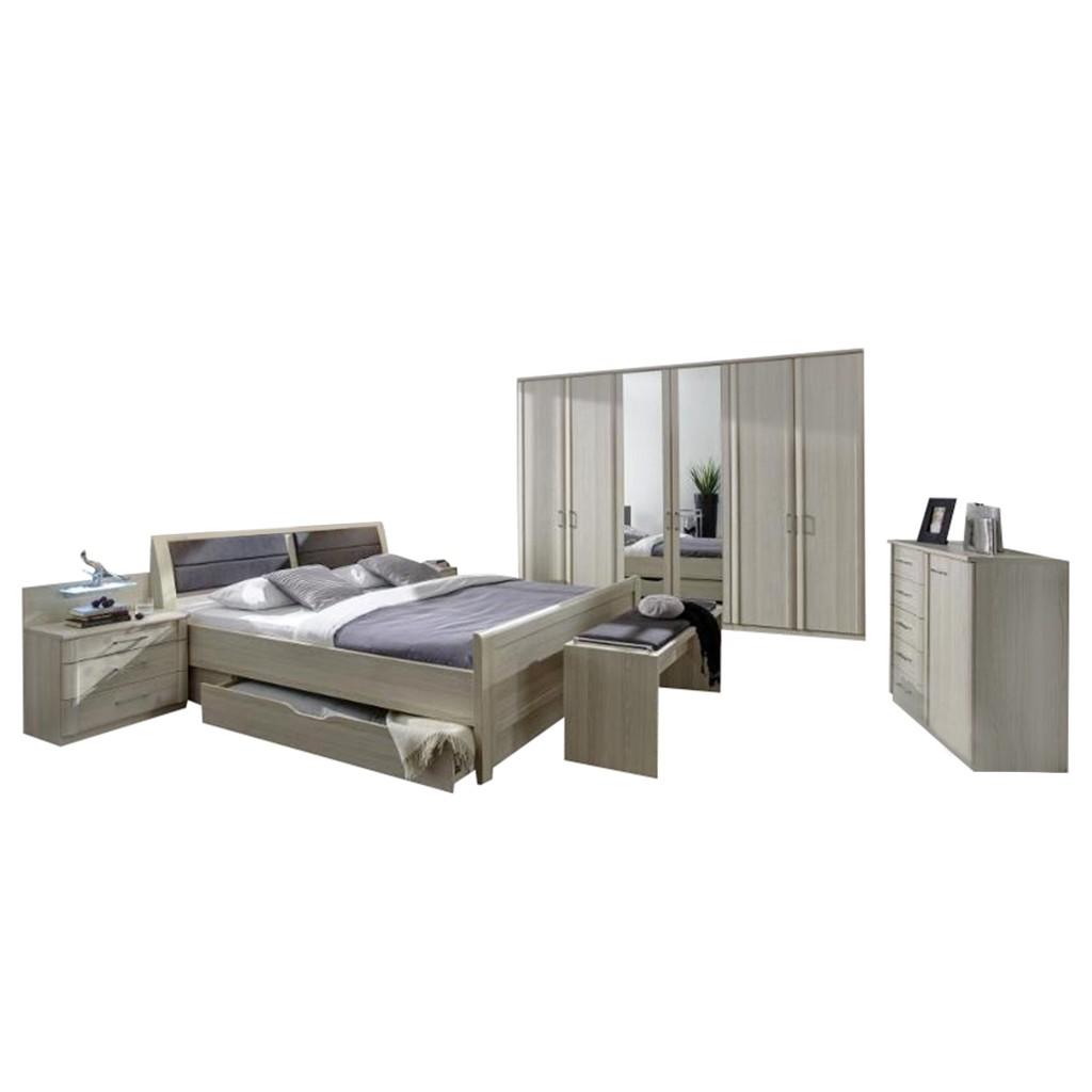 Schlafzimmer II Luxor 4 – Eiche Dekor – Eiche-Sägerau – 220x300x58, Althoff online kaufen