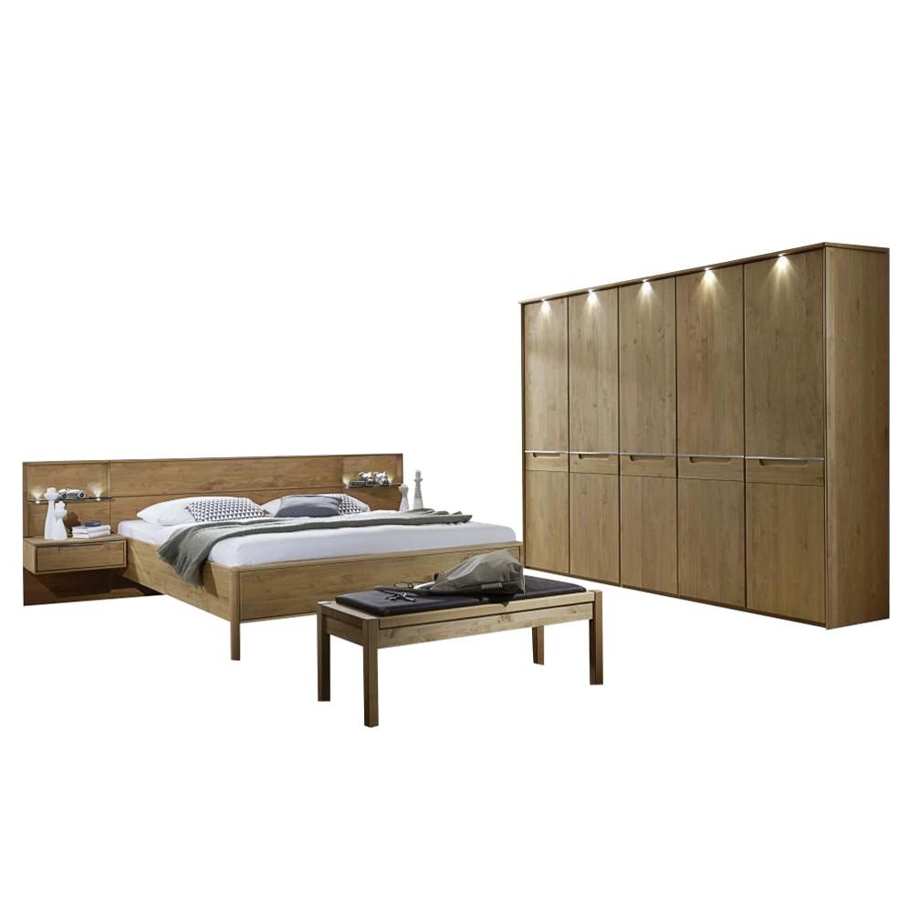 Schlafzimmer komplett Alabama – Erle massiv, Althoff günstig kaufen