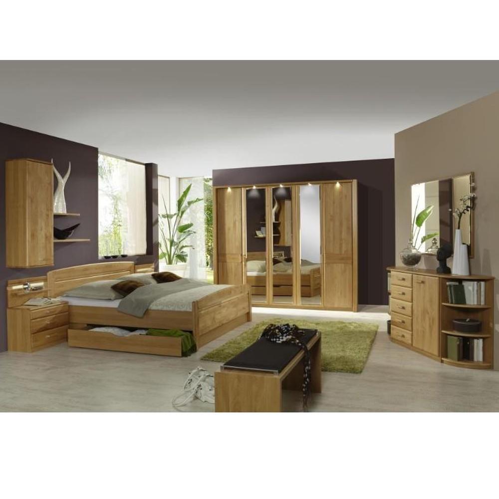 Schlafzimmer komplett Lausanne – Erle Dekor/Erle Massiv, Althoff online bestellen