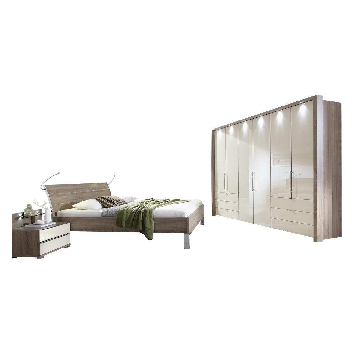 Schlafzimmer Loft – Trüffeleiche/Magnolie – 92 cm x 191 cm x 218 cm, Althoff günstig online kaufen