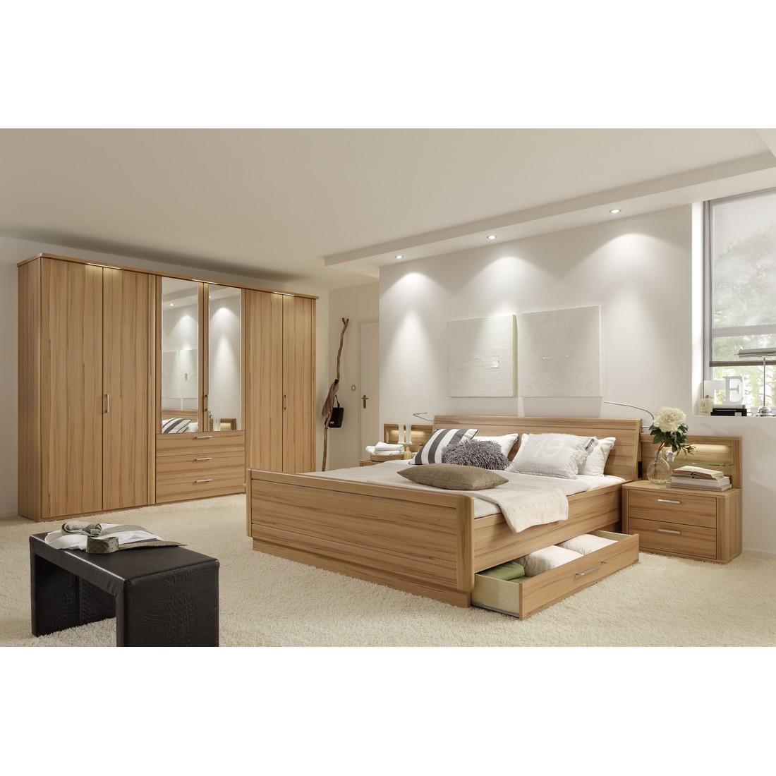 Schlafzimmer Moreno – Echtholz funier – Braunkernbuche – 160×200, Loddenkemper jetzt bestellen