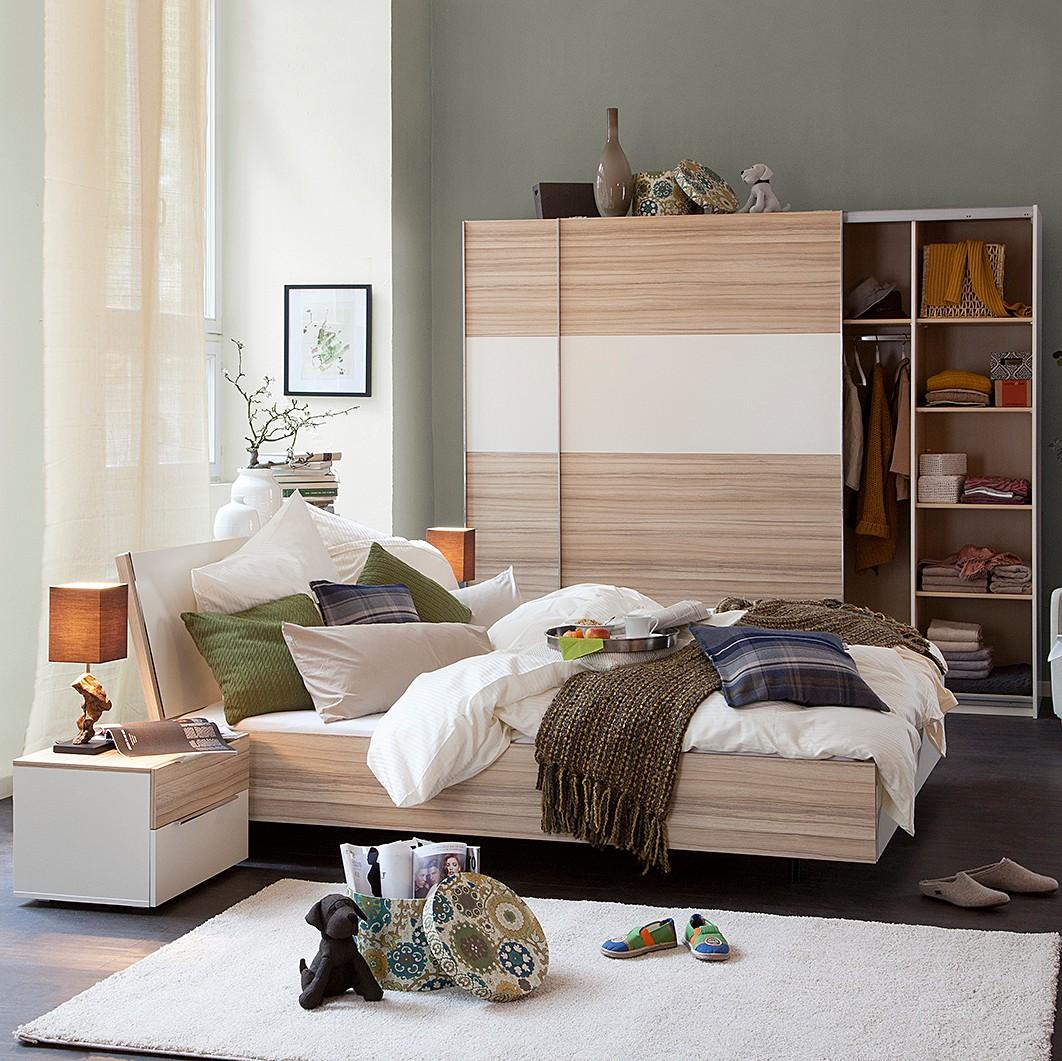 schlafzimmer set piacenza i 4 teilig wei eiche hell schlafzimmer set 4 teilig wei. Black Bedroom Furniture Sets. Home Design Ideas