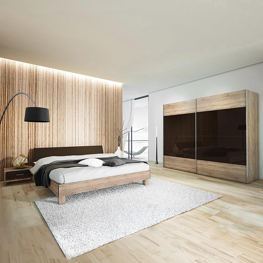 schlafzimmer set sunny day 4 teilig wildeiche lava hochglanz schlafzimmer set sunny day. Black Bedroom Furniture Sets. Home Design Ideas