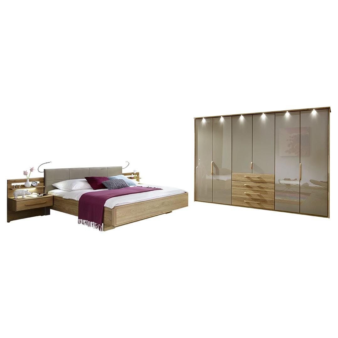 Schlafzimmer Torino II – Eiche/Magnolie/Magnolie, Althoff günstig