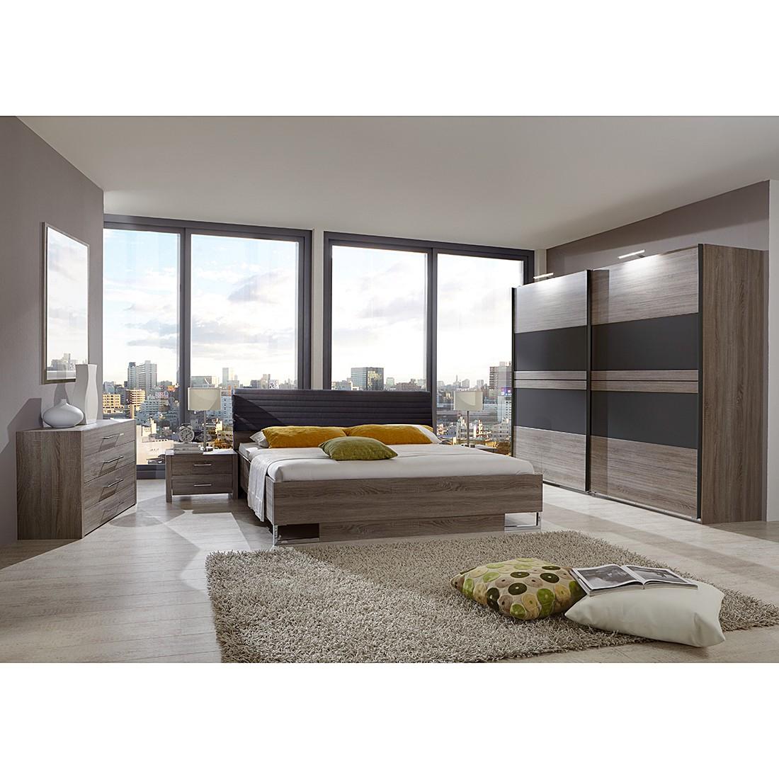 Schlafzimmerset Corfu – Montana Eiche Dekor / Lava, Wimex online kaufen