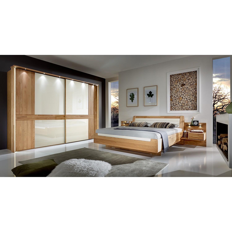 EEK A+, Schlafzimmerset Buffalo I (4-teilig) - Massivholz Eiche, Althoff