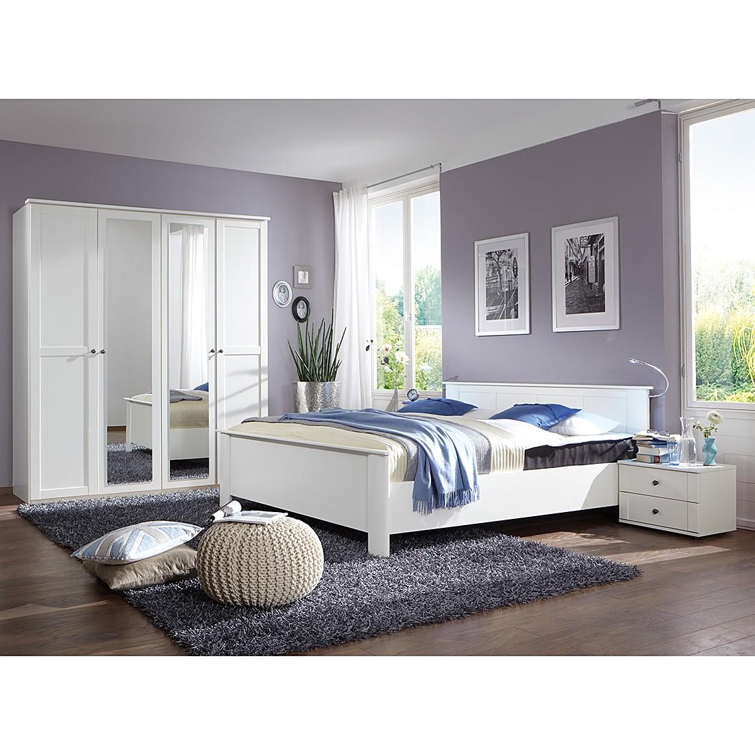 Schlafzimmerset Chalet – Klein Alpinweiß, Wimex günstig online kaufen