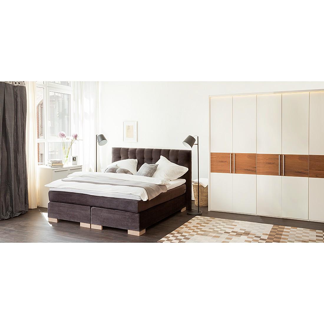 Schlafzimmerset Ceno – Grau/Lack Weiß, Panthel kaufen