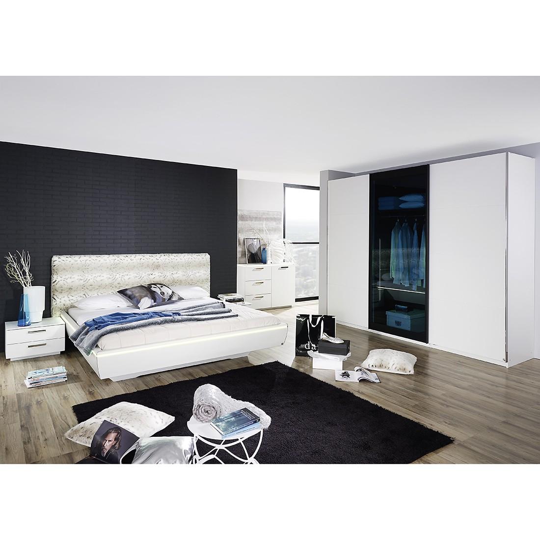 Schlafzimmerset Lahti – Alpinweiß, Rauch günstig kaufen