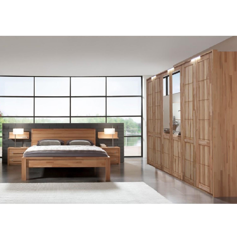 schlafzimmerset medas 4 teilig kernbuche massiv gewachst jung und s hne g nstig online kaufen. Black Bedroom Furniture Sets. Home Design Ideas
