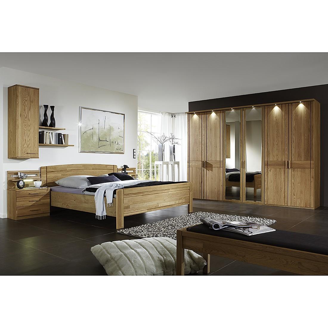 Schlafzimmerset Münster II (5-teilig) – Eiche teilmassiv – lackiert, Althoff jetzt kaufen