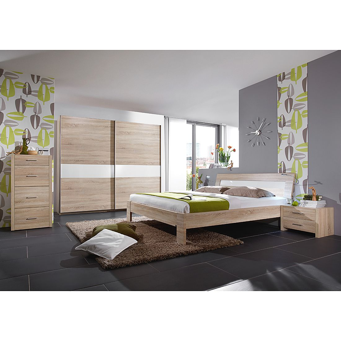 schlafzimmerset success eiche s gerau. Black Bedroom Furniture Sets. Home Design Ideas