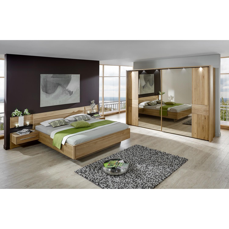 Schlafzimmerset Samoa II (6-teilig) - Eiche teilmassiv, Althoff