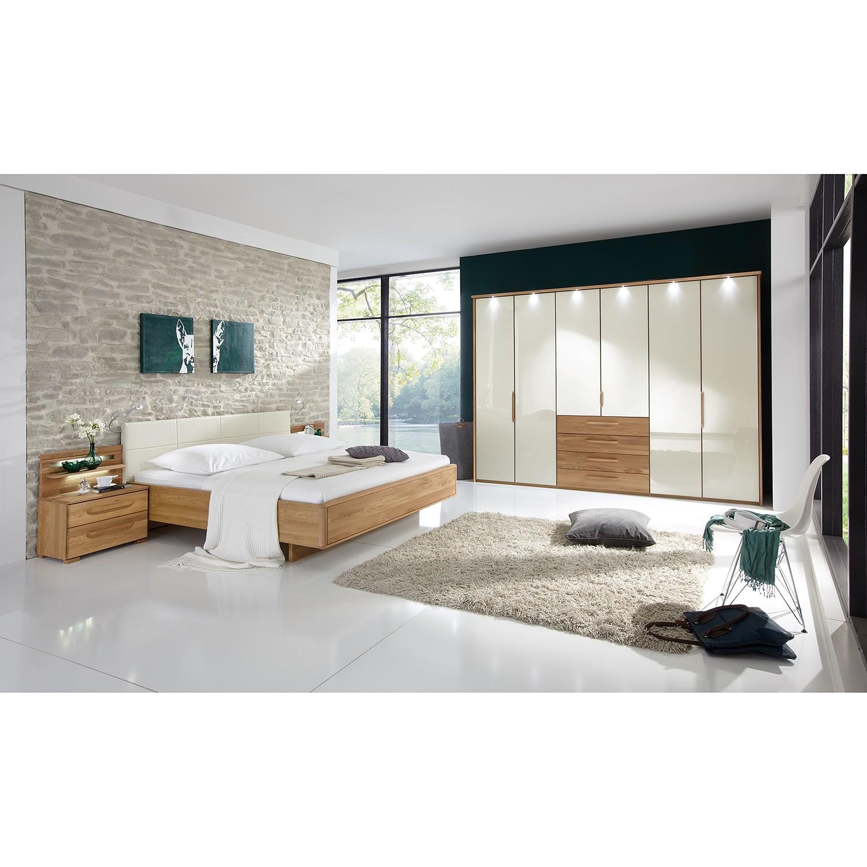 Schlafzimmerset Torino I (4-teilig) - Eiche teilmassiv/ Magnolie, Althoff