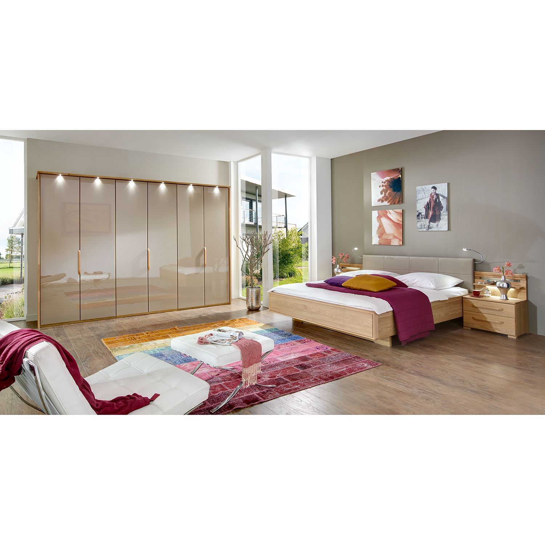 Schlafzimmerset Torino II (4-teilig) - Eiche teilmassiv/ Sahara, Althoff