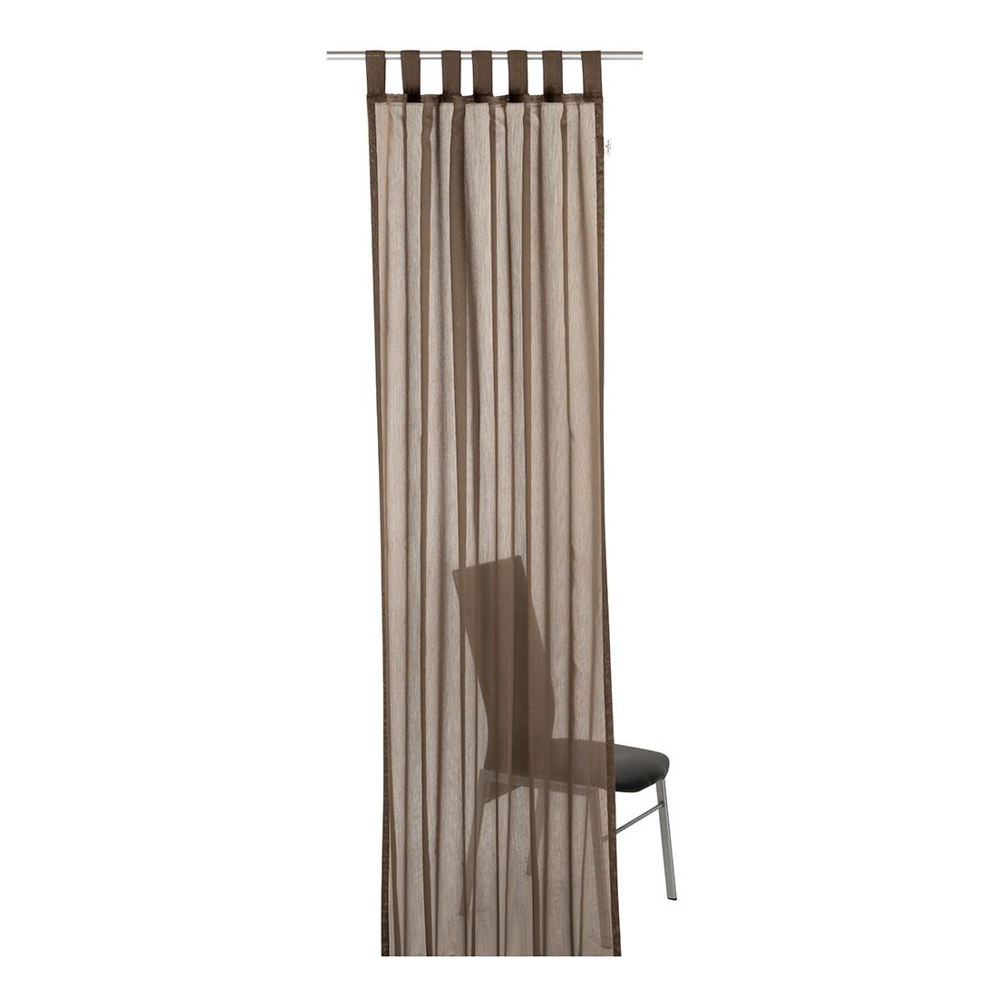 Schlaufenschal T-Plain – Braun – Maße: 140 x 255 cm, Tom Tailor jetzt kaufen