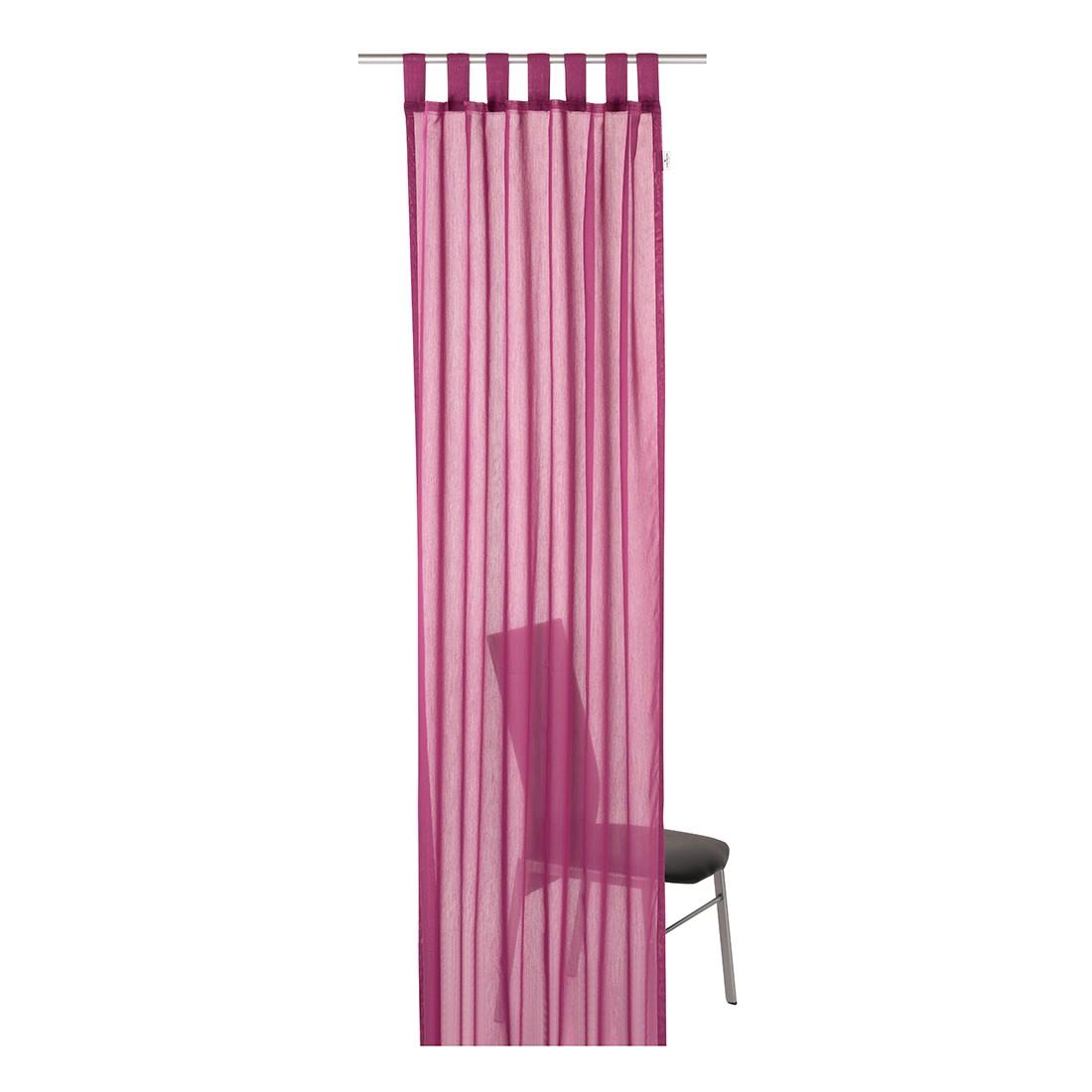 Schlaufenschal T-Plain – Pink – Maße: 140 x 255 cm, Tom Tailor bestellen