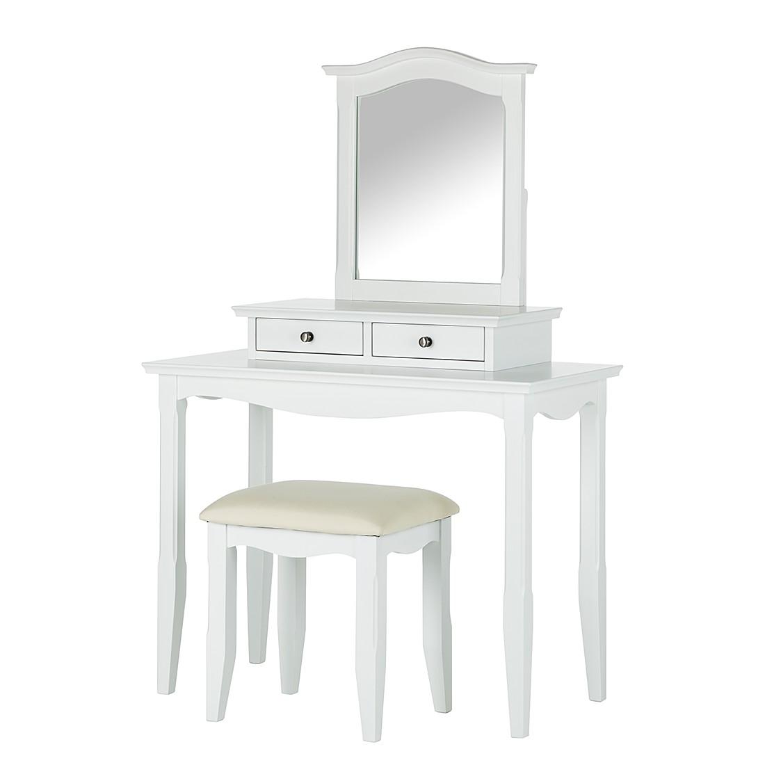 schminktisch wei g nstig kaufen. Black Bedroom Furniture Sets. Home Design Ideas