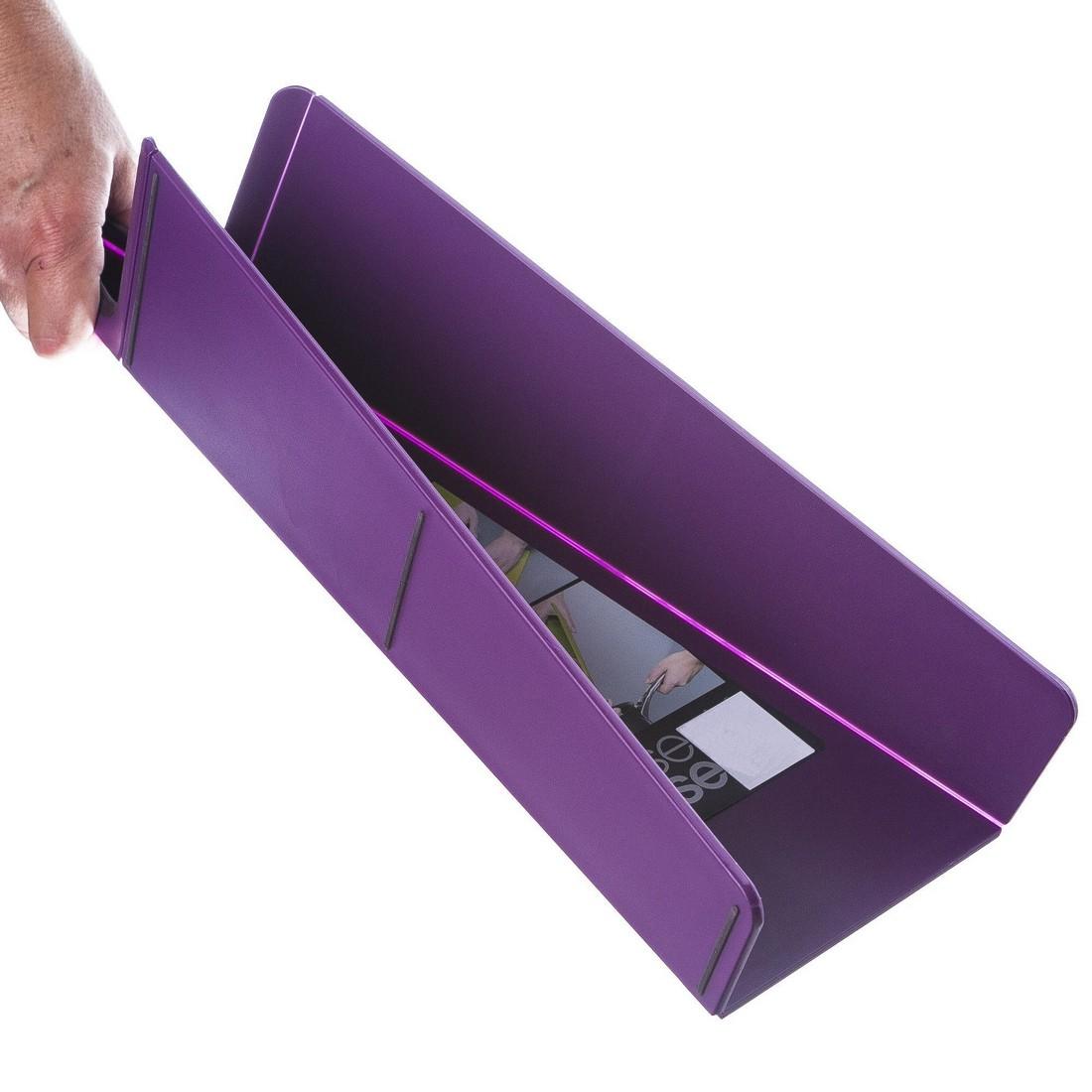 Schneidebrett Chop2Pot Plus – Kunststoff – Violett – 1 x 27 x 48 cm, JOSEPH JOSEPH günstig bestellen